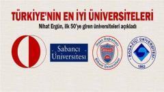 Türkiye nin En İyi Üniversiteleri Sıralaması 2014 2015