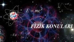 2021 YKS AYT Fizik Konuları ve Soru Dağılımı(ÖSYM-YÖK-MEB)