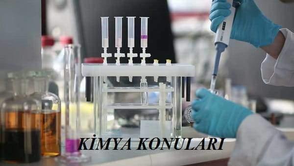 2020 YKS AYT Kimya Konuları ve Soru Dağılımı(ÖSYM-YÖK-MEB)