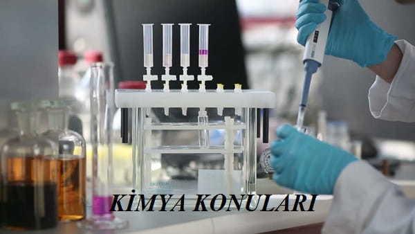 2020 TYT Kimya Konuları ve Soru Dağılımı(ÖSYM-YÖK-MEB)