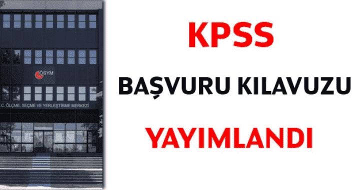 2020 KPSS Lisans başvuruları başladı