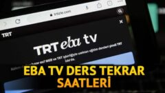 EBA TV Lise, Ortaokul, İlkokul Ders Tekrar Saatleri Ne Zaman?