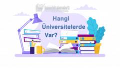 Adli Bilimler Bölümü Hangi Üniversitelerde Var?