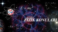 2019 TYT Fizik Konuları ve Soru Dağılımı(ÖSYM-YÖK-MEB)
