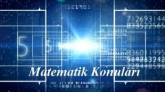 12. Sınıf Matematik Konuları 2020 2021 MEB