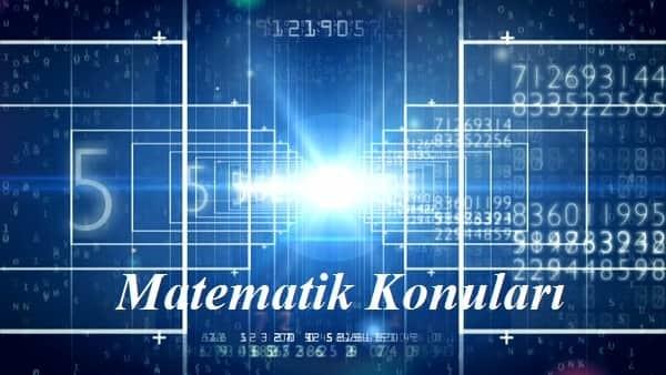 2020 YKS AYT Matematik Konuları ve Soru Dağılımı (ÖSYM-YÖK)