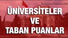 İstanbul'daki Üniversiteleri ve Taban Puanları